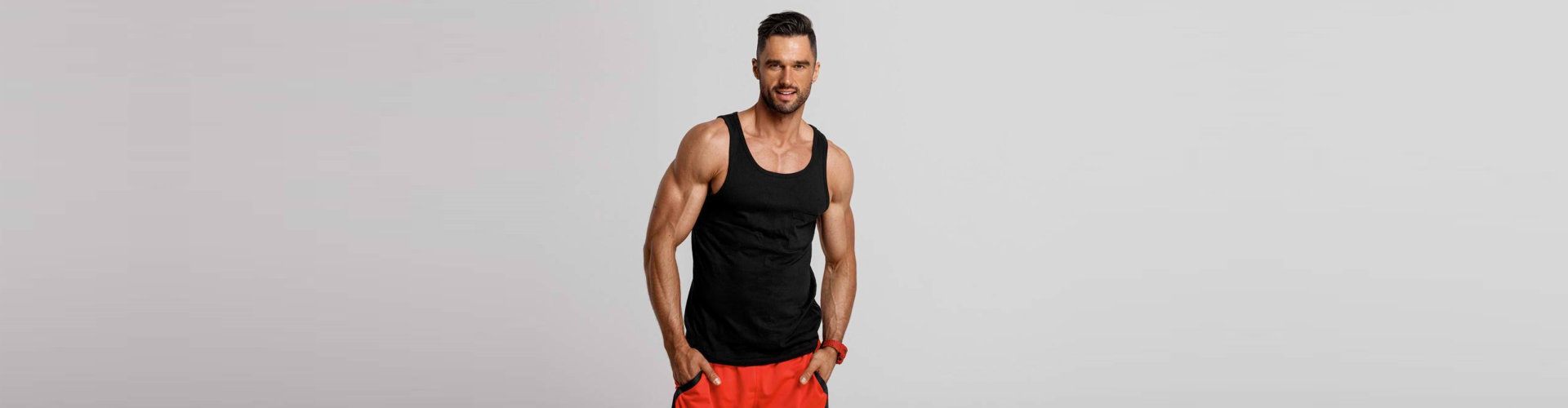 fit and healthy man